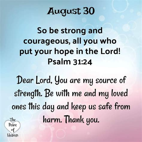 Prayer For Strength And Courage Quotes