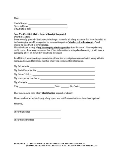 sample dispute letter credit reporting bureau printable