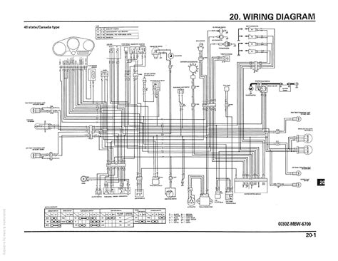 wiring diagram for a honda cbr 600 f4 diagram