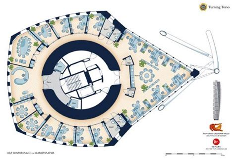 turning torso floor plan information based architecture turning torso plan google search buildings 2005 2010