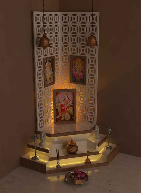 Home Temple Design Interior Pooja Mandir Designs For Home Pooja Mandir Interior Design Ideas