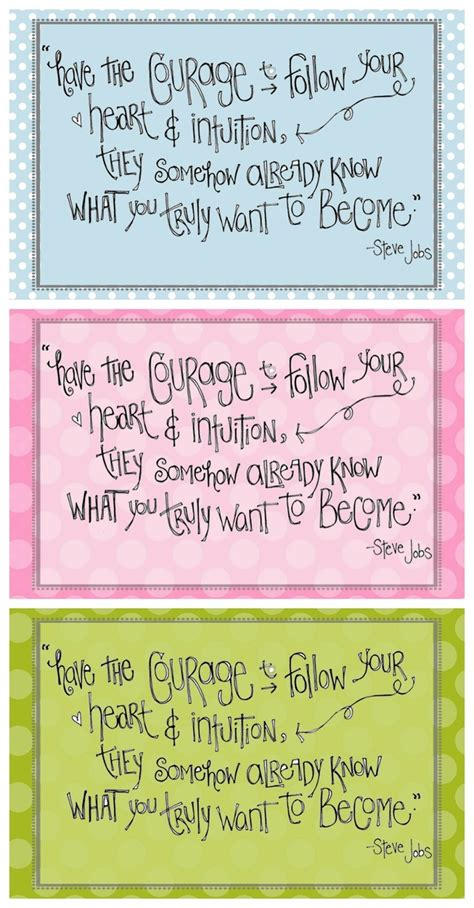 printable steve jobs quotes girls inspiration collage wall free printable courage