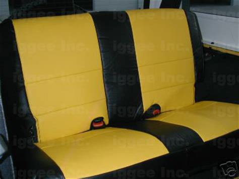 2006 Jeep Wrangler Seat Covers Jeep Wrangler Rubicon 2003 2006 Iggee S Leather Custom Fit