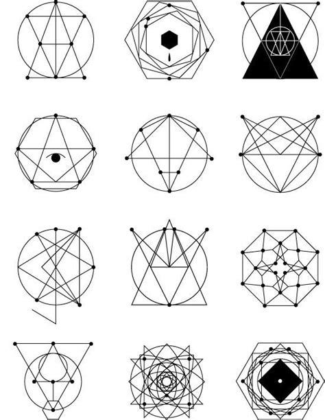 tattoo geometric symbols 279 best origami tattoos geometrics images on pinterest