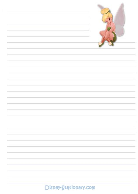 printable disney writing paper free printable lined disney stationary infocap ltd