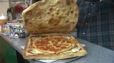 How To Make A Pizza Box Out Of Paper - mouthwatering edible pizza box is waste free because you