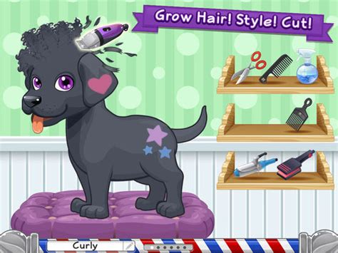 haircut games dogs sunnyville pet salon dog game play free fun pets hair