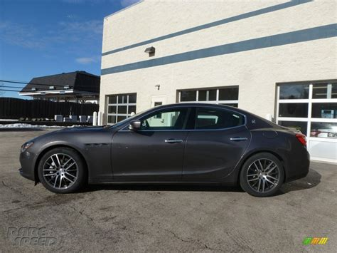 maserati ghibli grey 2014 maserati ghibli s q4 in grigio maratea grey metallic