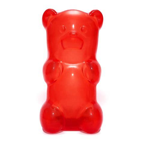 Gift For Housewarming by Jailbreak Gummy Bear Nightlight Red