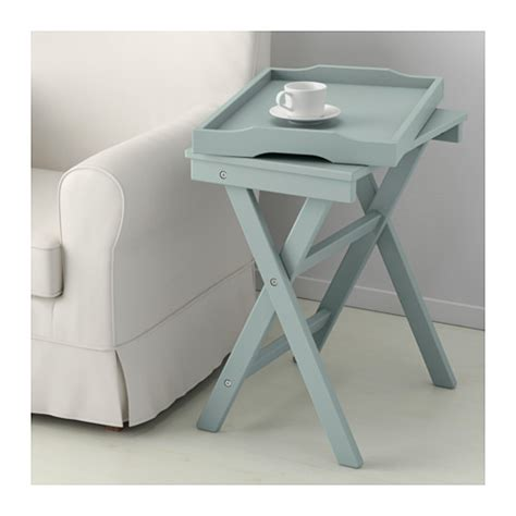 Folding Tray Table Ikea Maryd Tray Table Green 58x38x58 Cm Ikea