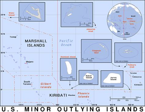 area code us islands zip code for united states minor outlying islands