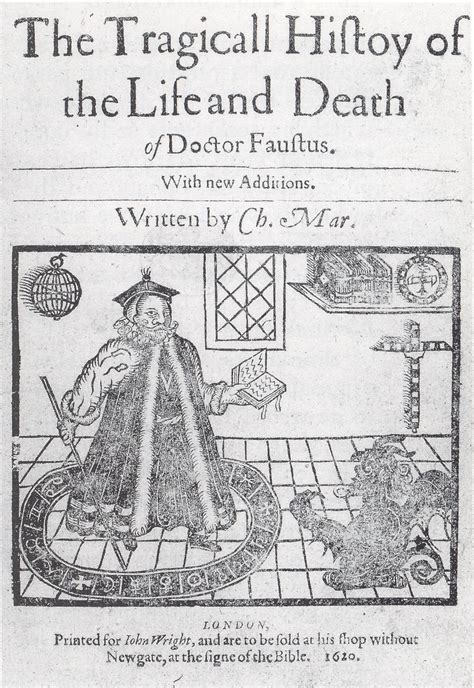 history of the plague of books doctor faustus play