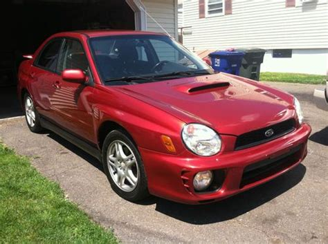 burgundy subaru wrx purchase used no reserve 2002 subaru impreza wrx