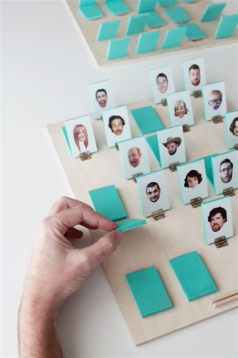 home made christmas gift games diy guess who almost makes