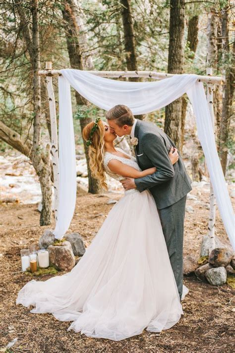 25  best ideas about Simple wedding arch on Pinterest