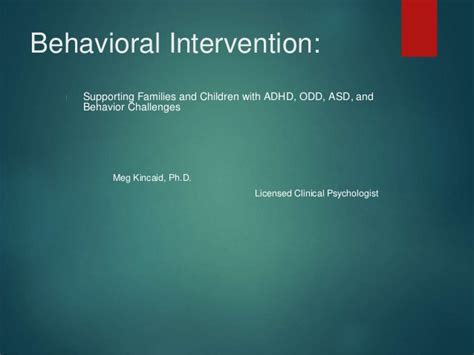 Behavior Interventionist by Behavioral Intervention For Adhd Asd And General Behavior Issues