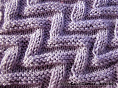 knitting stitch knit purl combinations pattern 4 labyrinth knitting