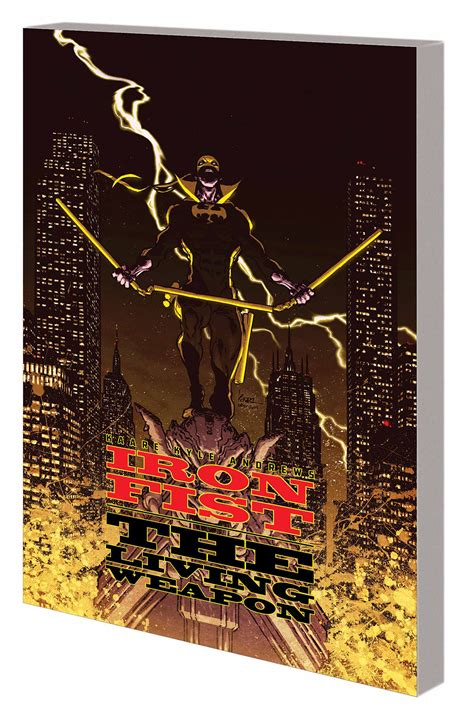 iron fist the living 0785154361 jun150830 iron fist living weapon tp vol 02 redemption previews world