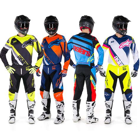 alpinestars motocross gear alpinestars new mx 2018 racer supermatic black fluro