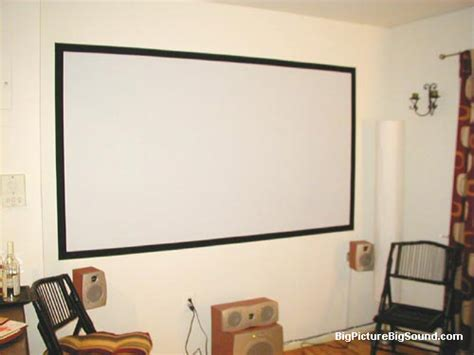 mighty brighty projection screen paint images
