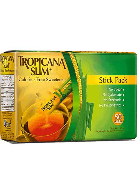 Tropicana Slim Sweetener Lemon 25 S tropicana slim zero calorie sweetener