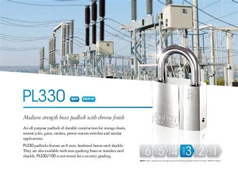 Gembok Abloy jual gembok padlock abloy pl330 50 tipe klasik kunci