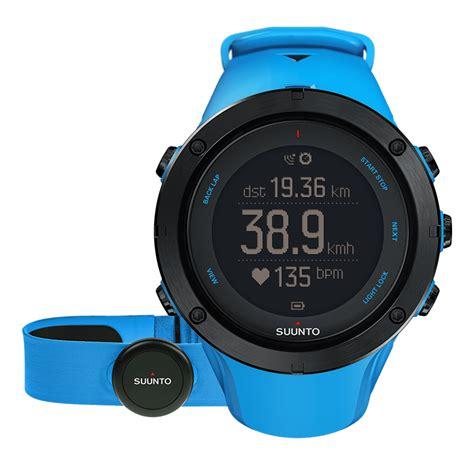 Jam Suunto Ambit3 Sport Sapphire suunto ambit3 peak sapphire blue hr gps for outdoor sports