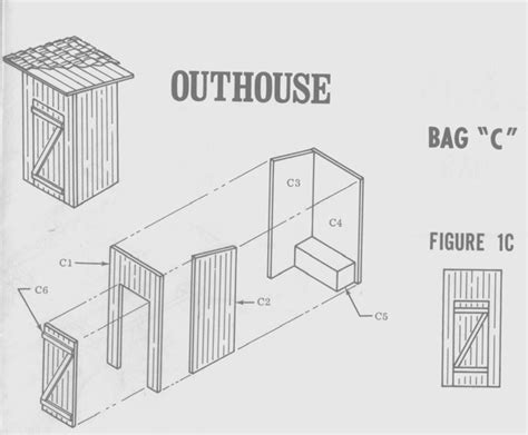 outhouse floor plans 23 outhouse blueprints ideas house plans 46630