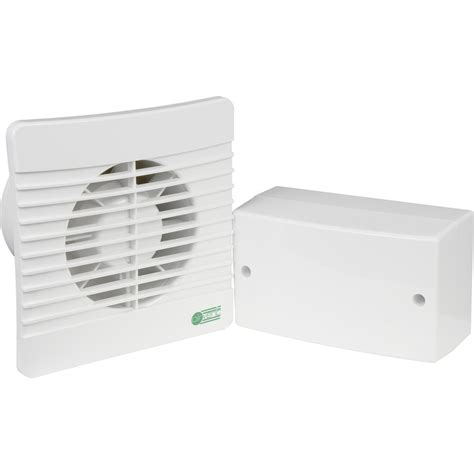 selv extractor fan 100mm selv 12v energy saving extractor fan timer toolstation