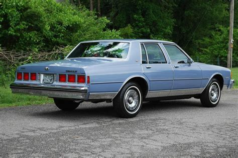 aah light for sale 1984 chevrolet caprice in light royal blue poly 5