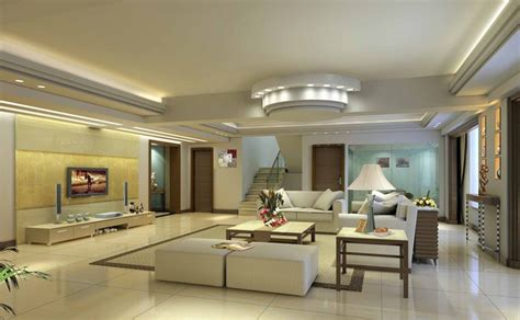 plaster ceiling design rendering for luxury modern living