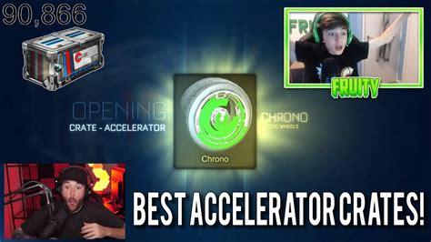 best accelerator best accelerator crate openings in rocket league
