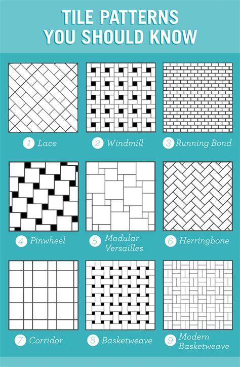tile pattern running bond 9 tile patterns you should know trendy tile design ideas