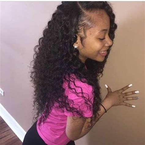 brazillian wave curls hairstyles follow me stylists and princesses on pinterest