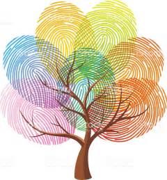 Biometric Art by Fingerprint Tree Stock Vector Art 480619234 Istock