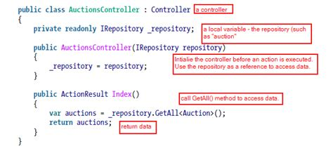 repository pattern using stored procedures o reilly programming asp net mvc 4 4 learning asp net