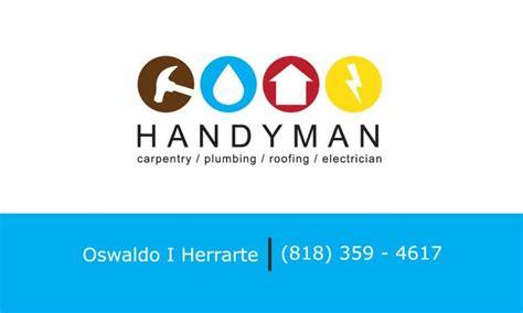 johnsonhandyman bu s siness cards templates free handyman logos for business cards www imgkid the