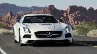 sls amg black series gullwing sports car mercedes