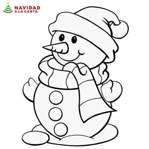 imagenes para colorear de niños en navidad 10 dibujos de navidad para colorear navidad a la carta
