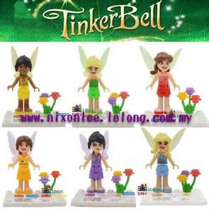 Tinker bell fairies lego compatible mini figures itemid 157123723