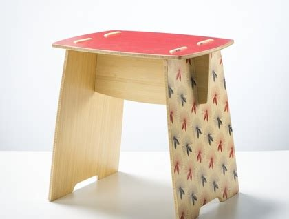srd plywood bedside tables felt yooboo pew stool side table quot pohutukawa quot felt