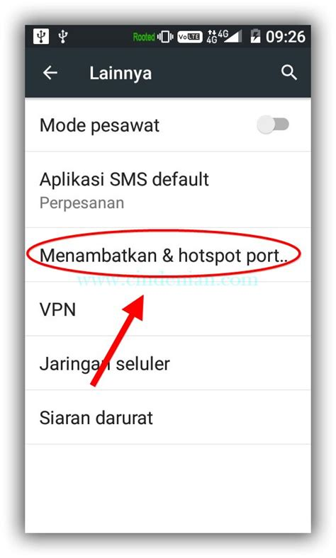 Modem 4g Untuk Hp Android cara menjadikan hp android sebagai modem cindenian