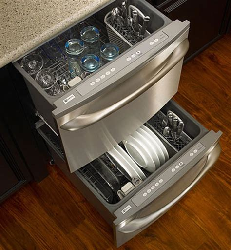2 Drawer Dish Washer What Do You Think Of Dishwasher Drawers The Kitchn