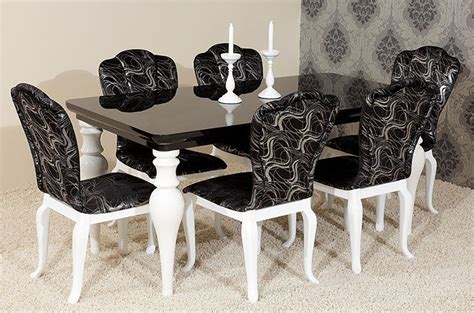 six italian black lacquer chinese chippendale dining 17 best ideas about black dining room sets on pinterest