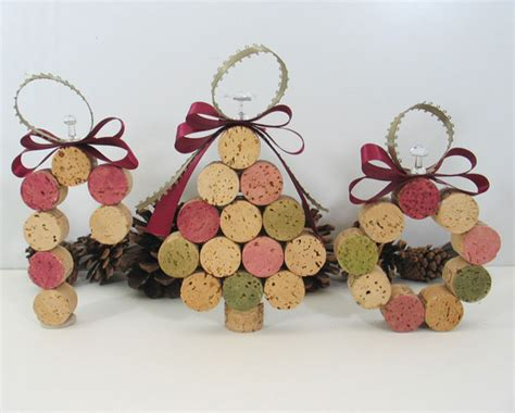 cork ornament recycled wine cork ornament