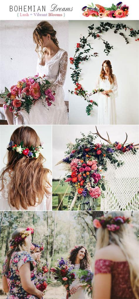 boho colors top 5 rustic bohemian chic wedding color palettes we