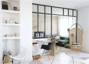 la tendance d 233 co scandinave vintage blanc bois rotin