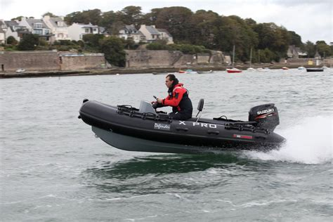 xpro inflatable boats xpro defender 420 aluminium reinforced rib ocean first
