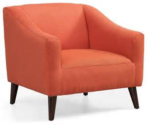 rust accent chair quincy arm chair rust contemporary armchairs and