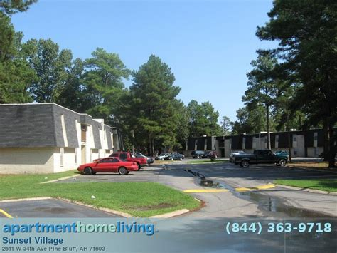 Sunset Apartments Rock Ar Sunset Apartments Pine Bluff Apartments For Rent